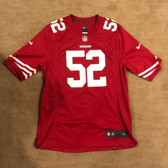 official photos fe353 389f9 Patrick Willis Home 49ers jersey large